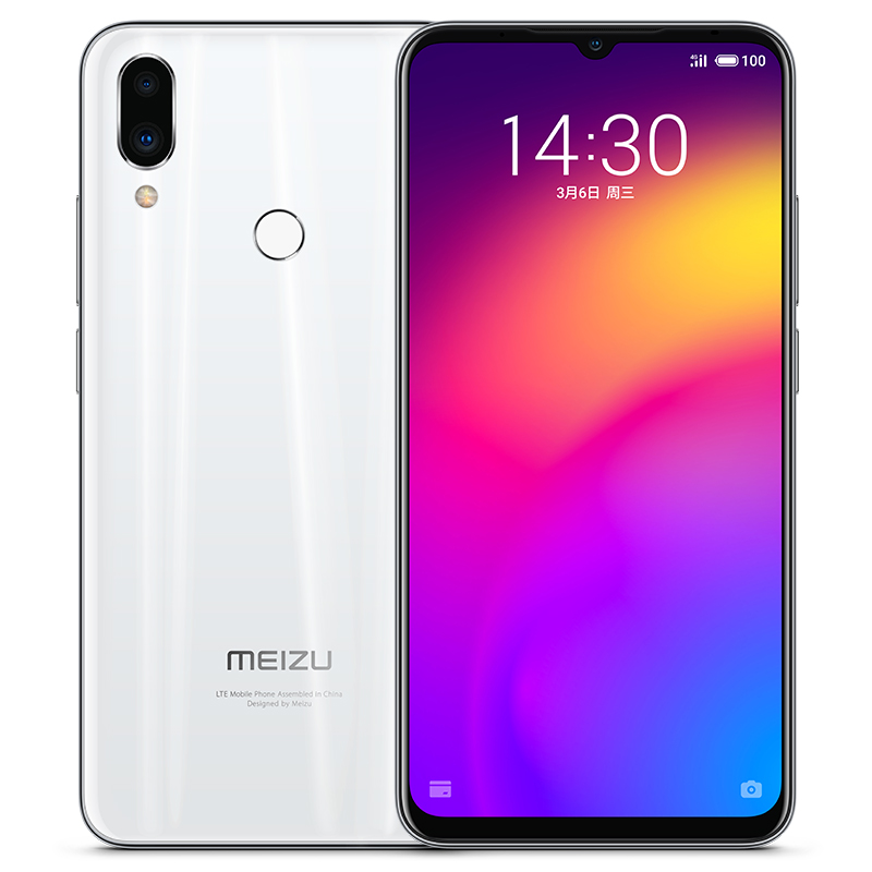 Meizu Note 9 4+64GB ROM Smartphone White