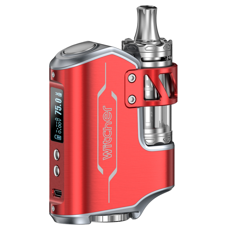 Witcher 75W Mod Vaping Kit (Red)