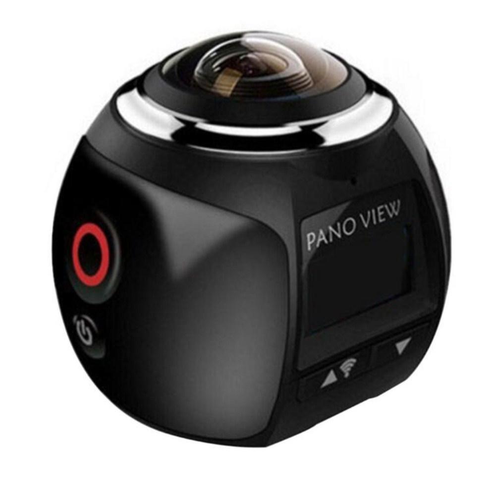 360 Angle Panoram Sport Camera DV VR Video Camera blue