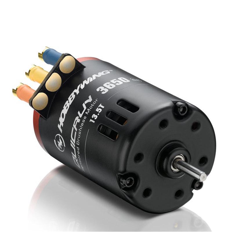 Hobbywing QUICRUN G2 3650 Sensored 6.5T/8.5T/10.5T/13.5T/17.5T/21.5T Racing Brushless Motor for 1/10 Rc Car Crawler
