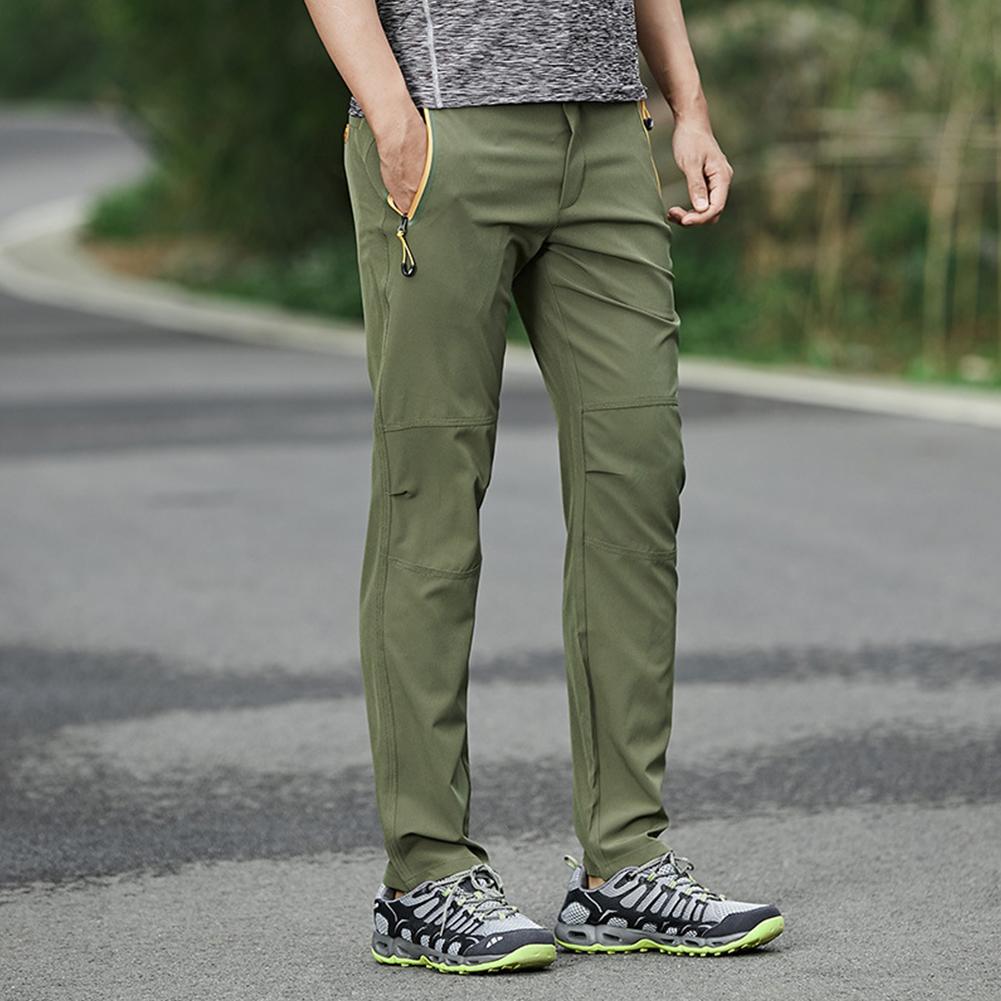 Couple Multi-pocket Outdoor Waterproof Windproof Casual Quick-drying Pants High Elastic Walking Running Hiking Ski Pants