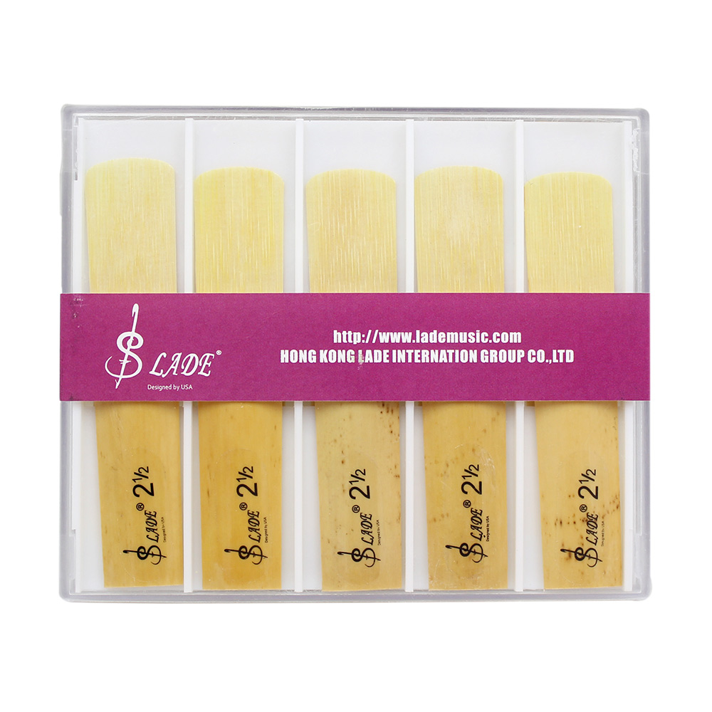 10 pcs Tenor bB Saxophone Reeds 2-1/2 Bamboo Sax Reed Strength 2.5 Musical Instrument Parts & Accessories Tenor