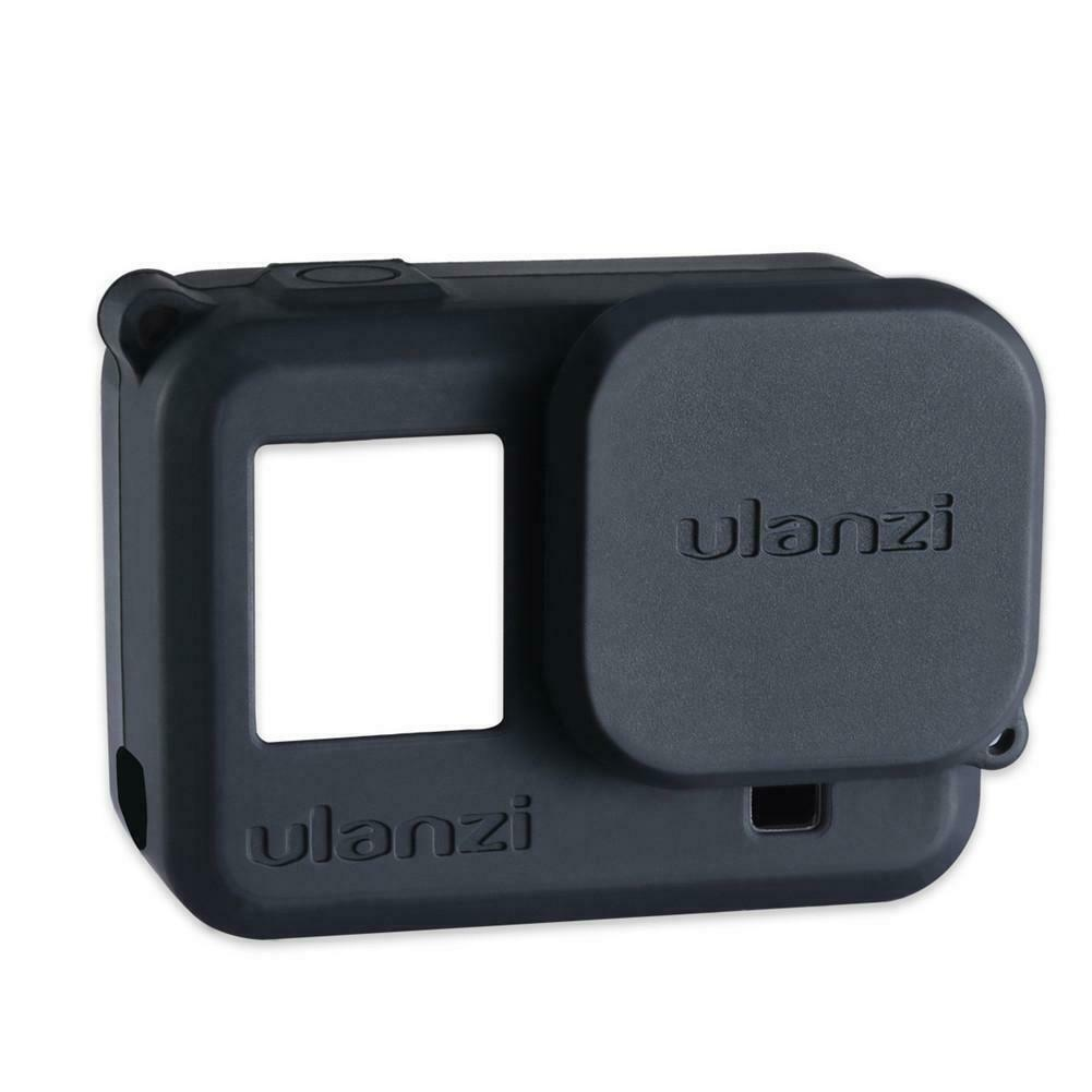 Protective Silicone Case For GoPro Hero8 Black Sports Camera Housing Frame Cover black