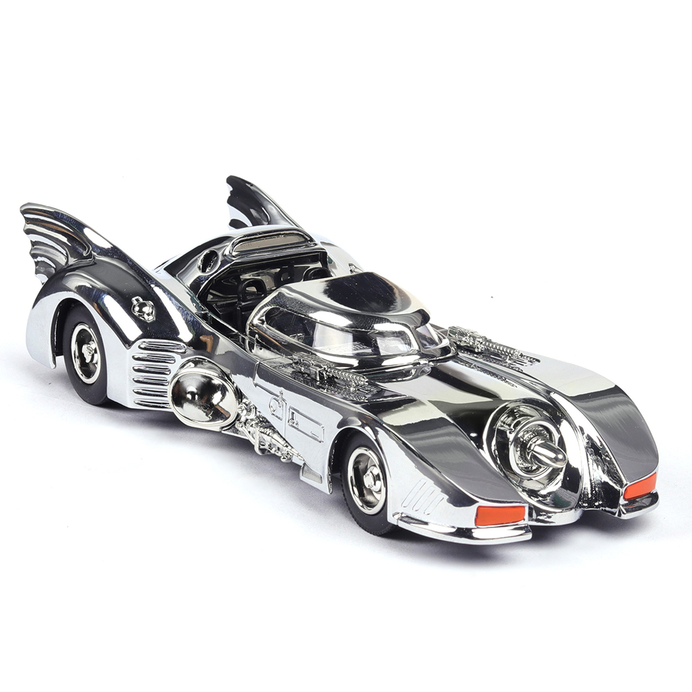 1:38 High Simulation Car Alloy Chariot Home Decoration Cute Collection Christmas Gift Car Model Toy for Kids Boys Toddlers Silver