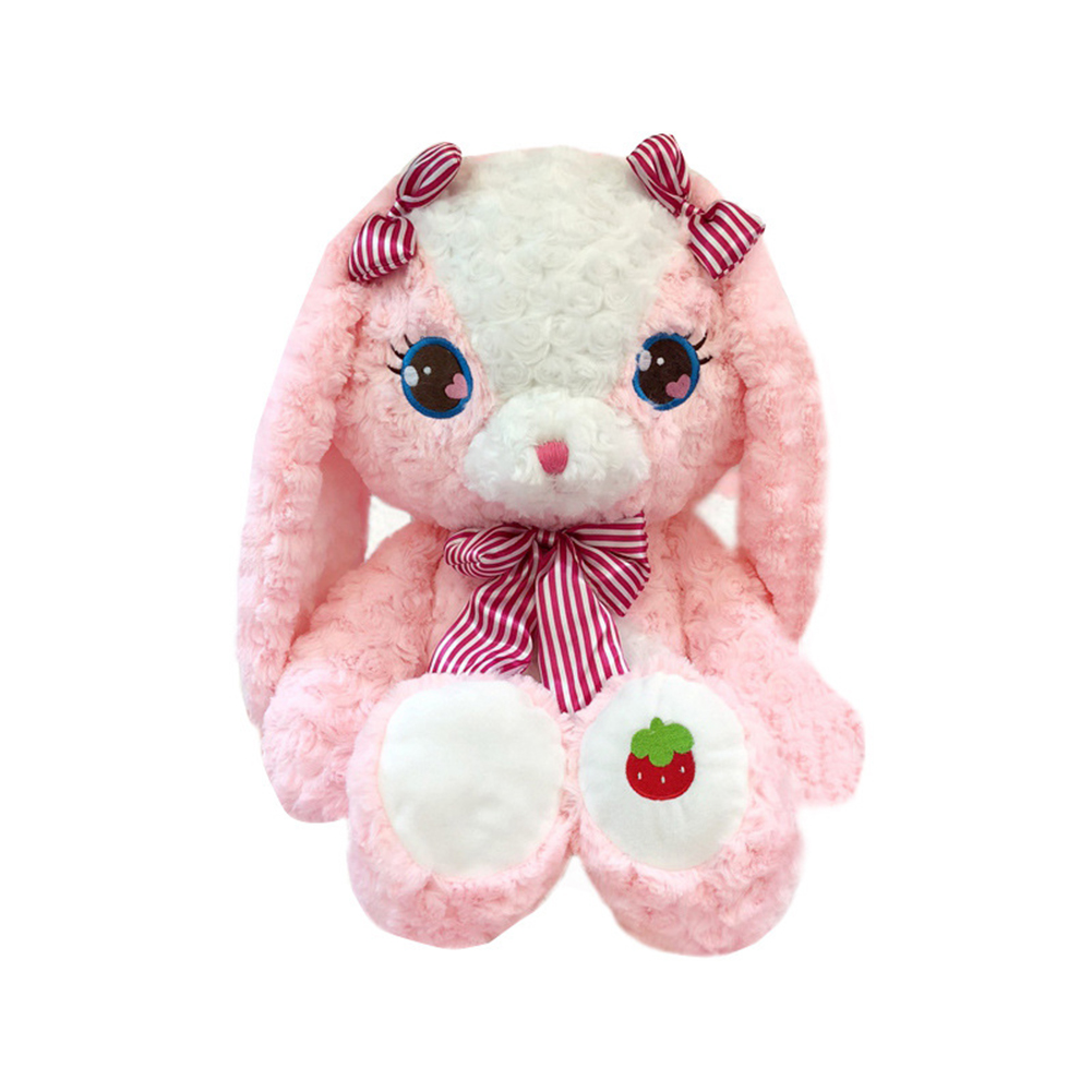 Plush Toy Cake Bear Strawberry Rabbit Cake Bear Doll Strawberry rabbit