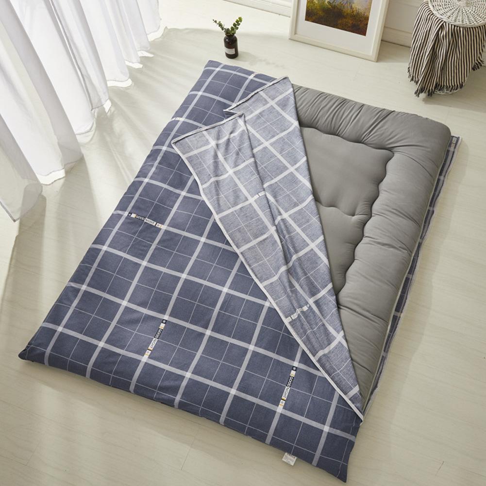 Thickening Mattress Tatami Cover Anti-skid Bedroom Furniture Student Dormitory Matress plaid