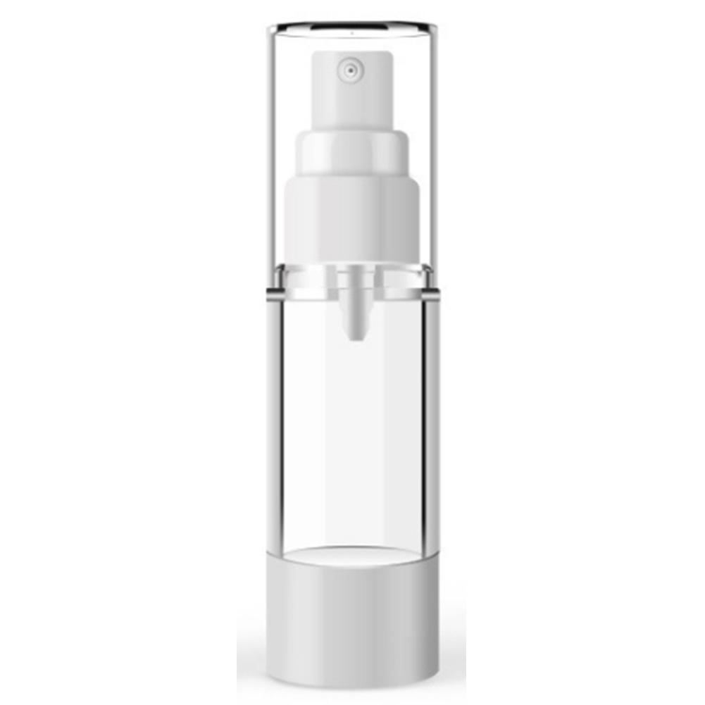 15ml-100ml  Plastic Cosmetic Bottle Refillable Bottles Emulsion Spray Transparent Airless Pump Vacuum Container