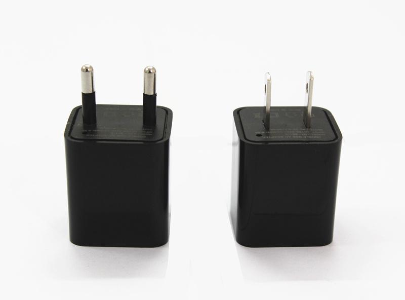 USB Wall Charger 1080P Camera Motion Detection Mini DVR Video Recorder 8-32GB EU Plug