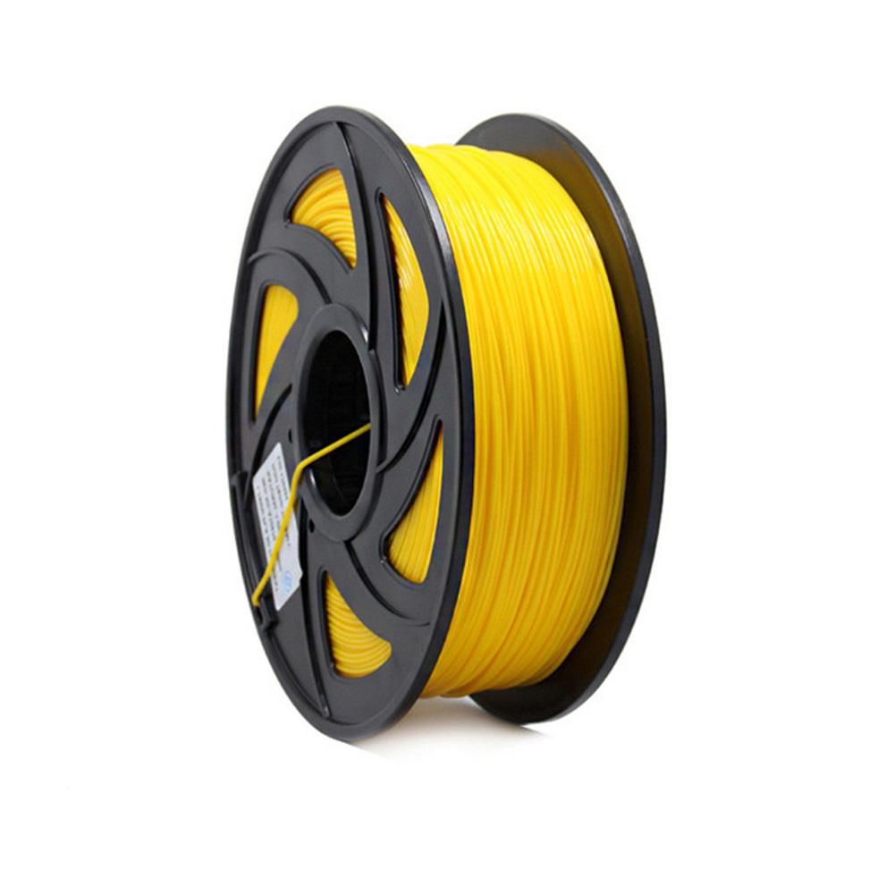 1KG 1.75mm PLA Filament for 3D Printer Printing Filament Materials yellow