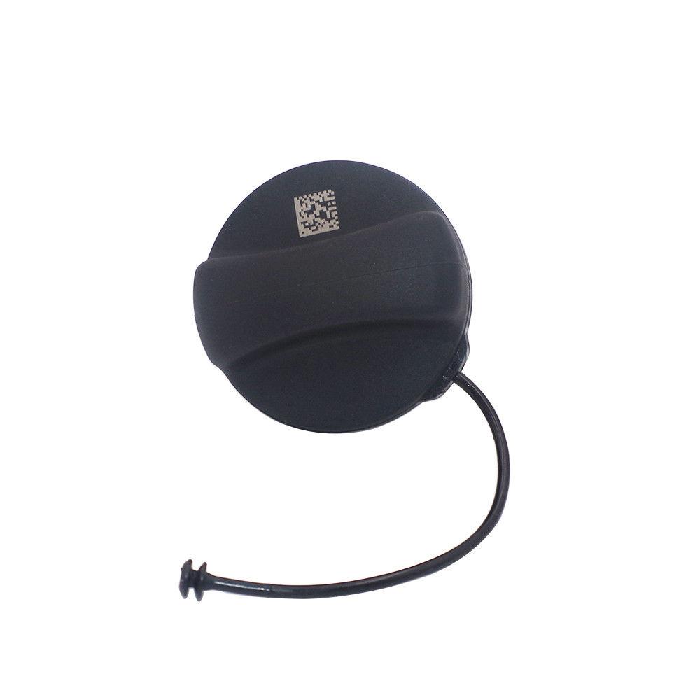 Black Fuel Gas Tank Filler Cover Cap 16117222391 For BMW E90 E92