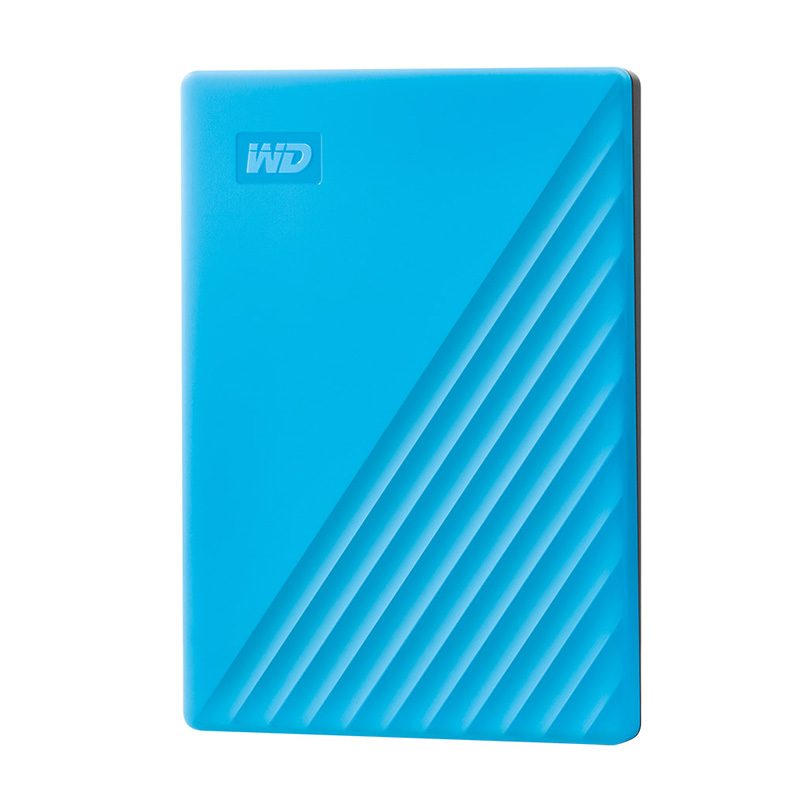 Western Digital WD HDD 1TB/2TB/4TB Hard Drive 5400RPM SATA 6GB/s 32MB Cache 2.5inch External Hard Disk For PC Laptop Backup Light blue_4TB