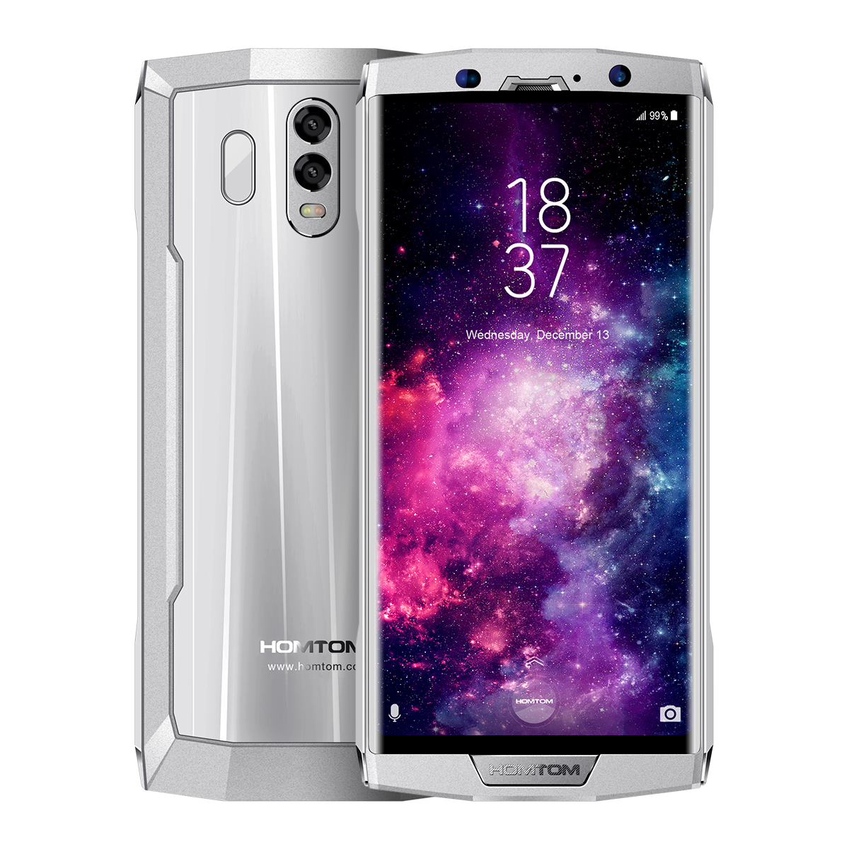 HOMTOM HT70 Android 7.0 10000mAh Smartphone