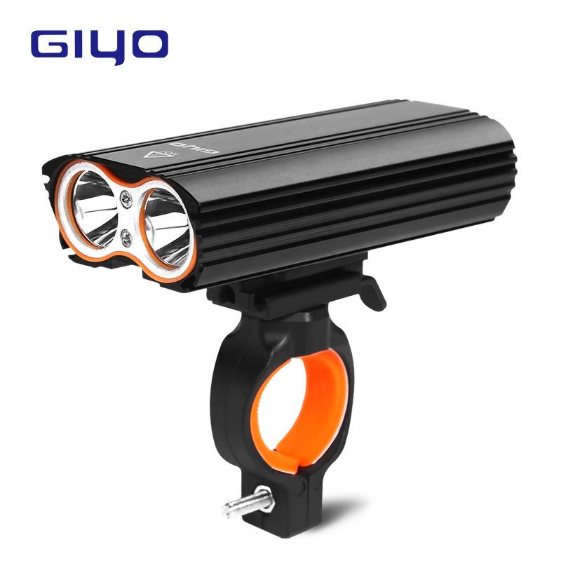 GIYO Bicycle Headlights USB Charging Lights Riding 360° Rotatable Waterproof Headlights LR-Y2 GIYO headlights