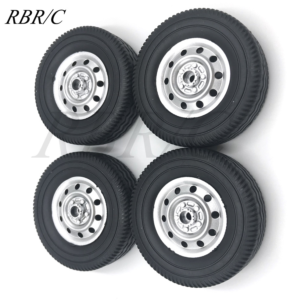 WPL D12 Metal OP Accessaries Diy Upgrade Rc Off Road Car Model Spare Tires_1:16