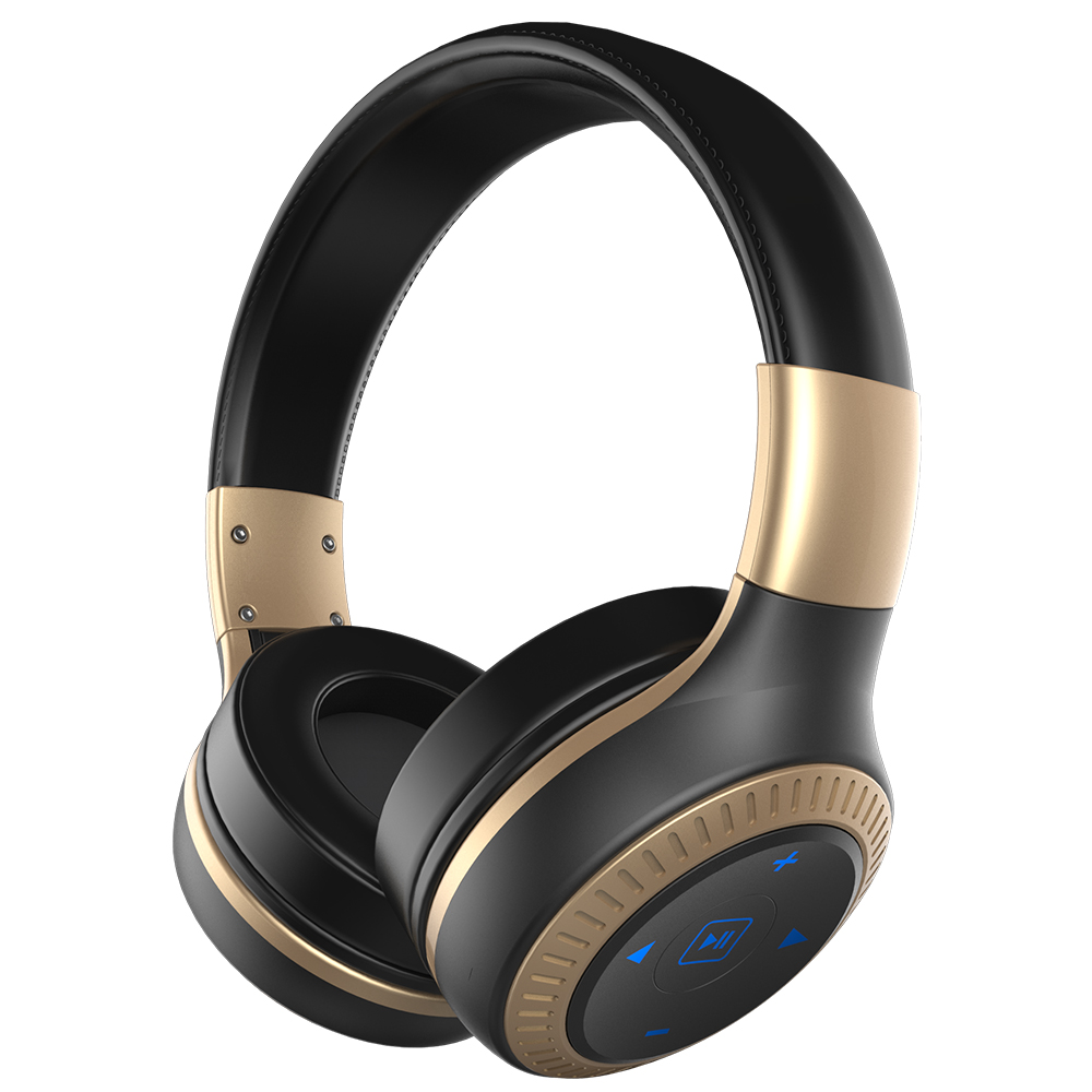 ZEALOT B20 Bluetooth Headset Black Gold