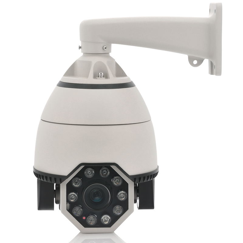 10x Array LEDs Optical Zoom IP Camera