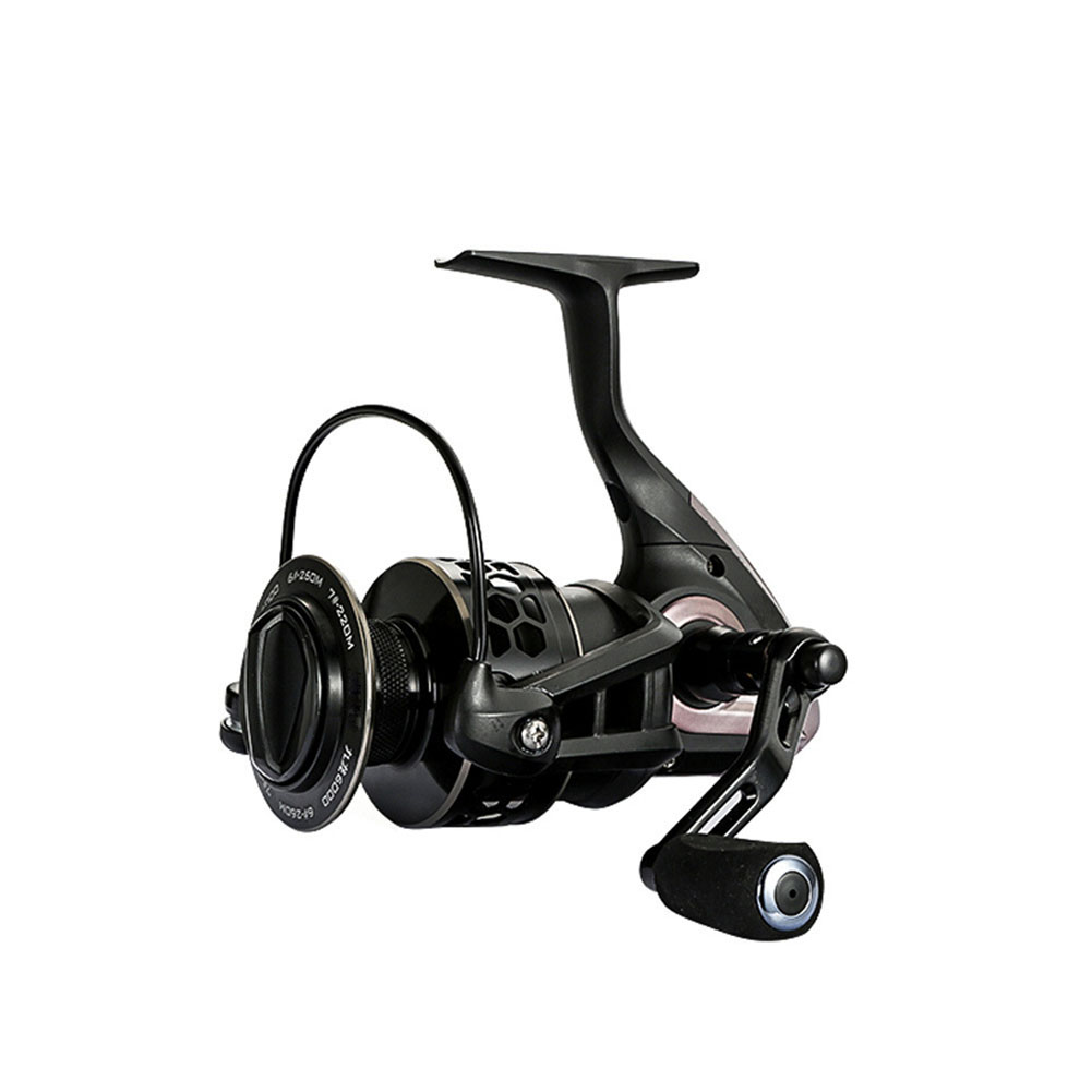 9 axis Steel Alloy Double-color Line Cup Fishing Reel Spinning Wheel Reel Fishing Equipment black_JL2000