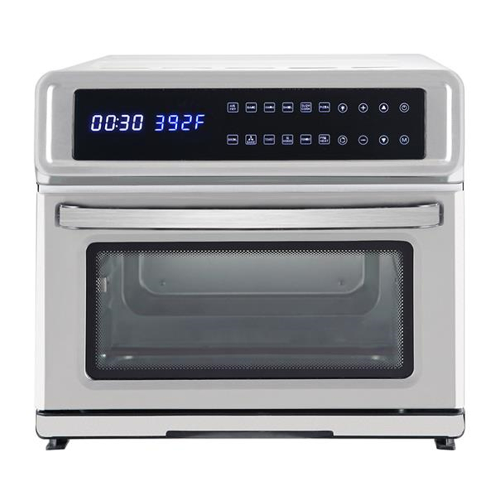 Stainless Steel Zokop Kafo-1700a-d1 120v 20 L Air  Fryer Oven 1700w Silver Silver
