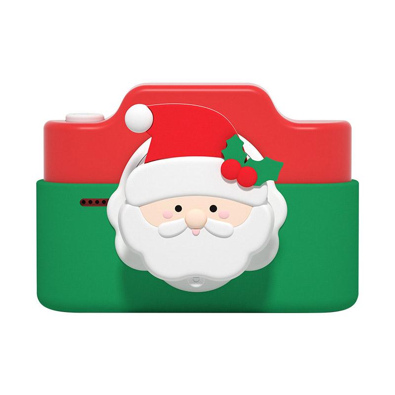 C4 Wifi 4800w Dual Cards Children Digital Camera Christmas Gift Kids Camera Christmas red