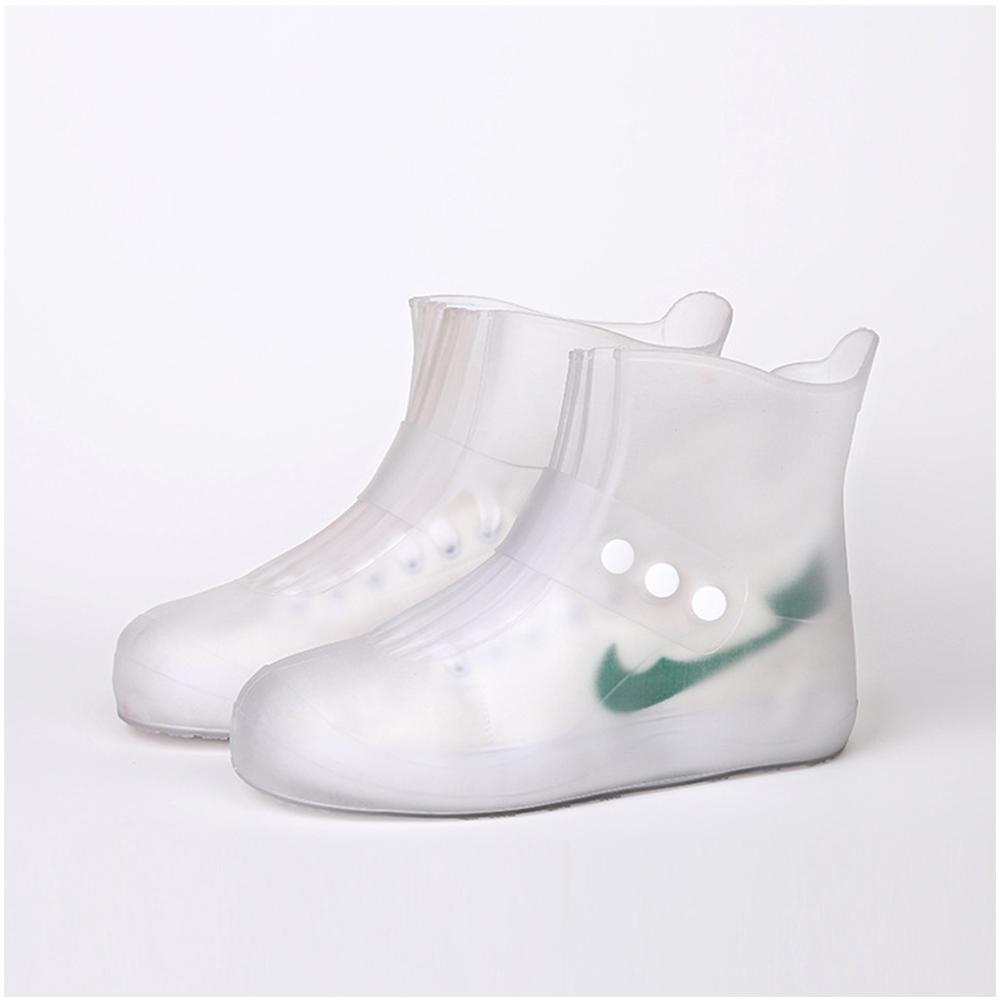 Waterproof Shoes Covers Non Slip Short Rain Boots for Kids Men Women