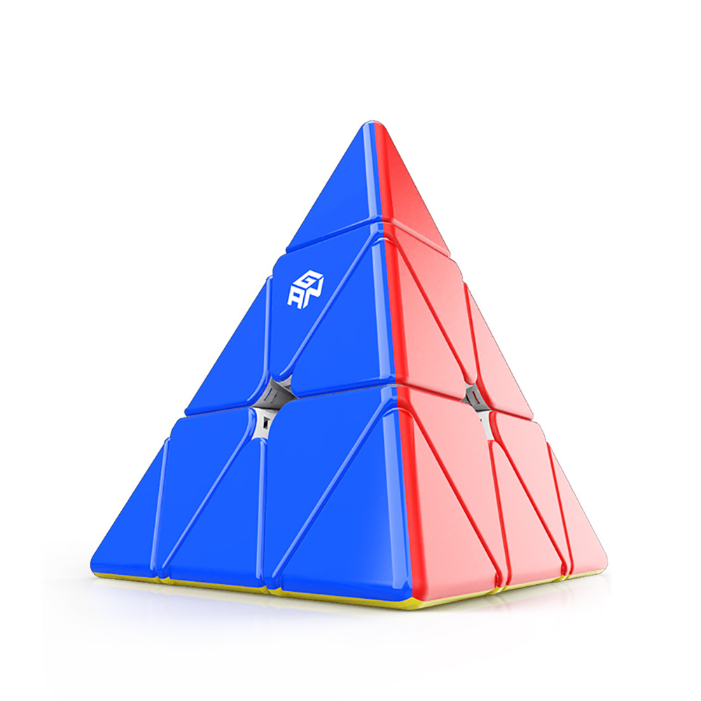 GAN Pyramid Magnetic 3x3 Magic Cube Speed Cube Puzzle Toys for Children Standard