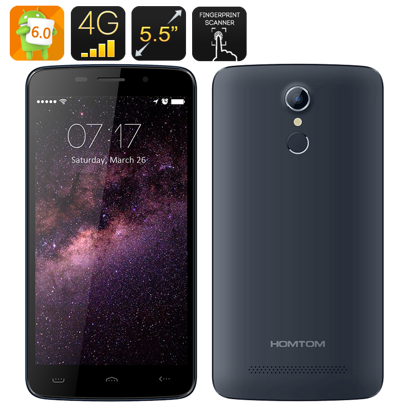 HOMTOM HT17 Android 6.0 Smartphone (Blue)