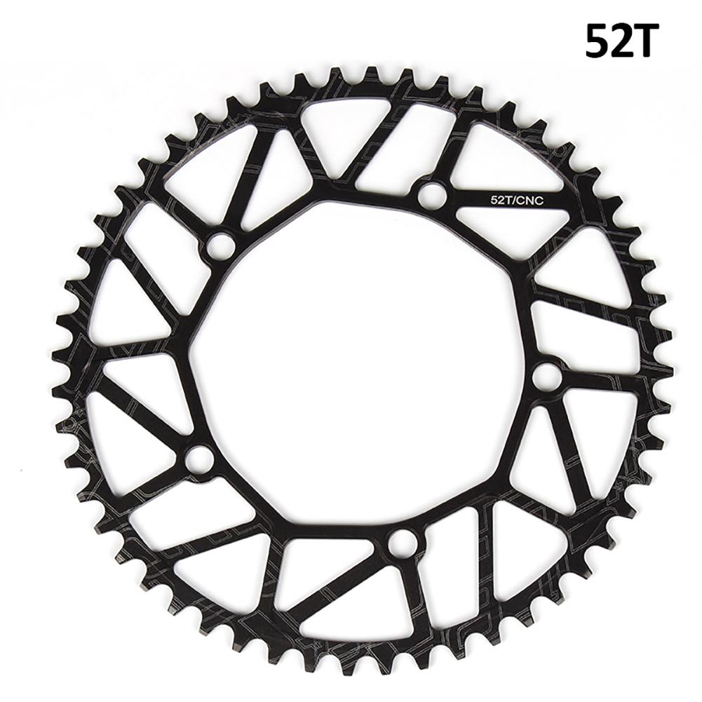 Litepro Bicycle Ultra-light Chain Wheel 8/9/10/11 Speed Aluminium Alloy Chainwheel Positive and negative tooth single disc 52T
