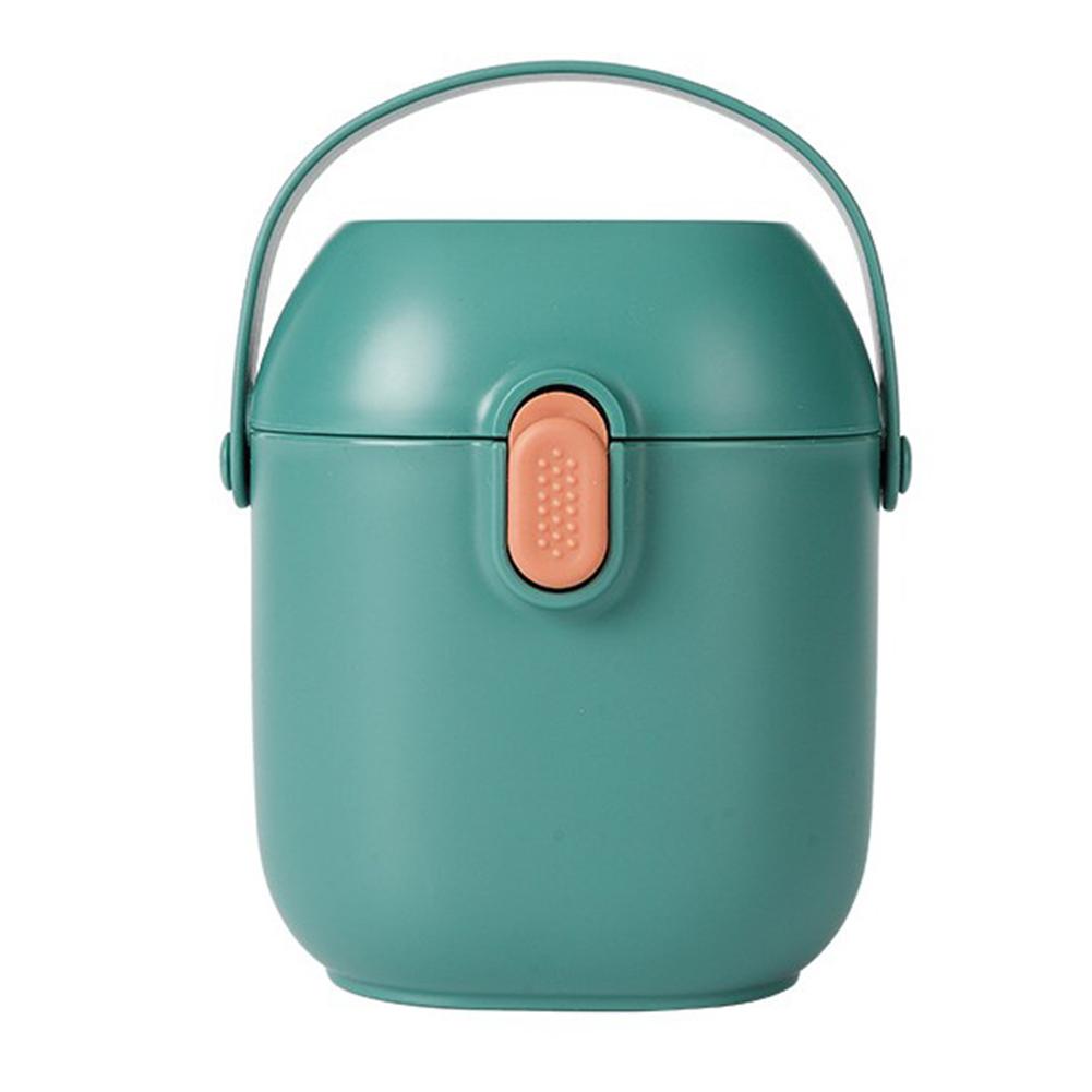 Baby Formula  Dispenser Portable Milk Powder Dispenser Snack Storage Container For Travel Bedroom With Handle Scoop