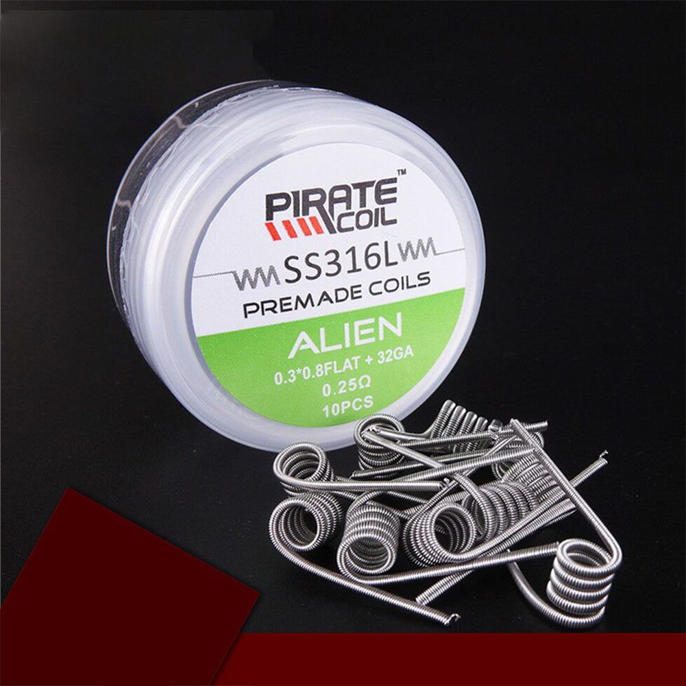 SS316 E-cigarette Heating Wire  Alien 0.25 ohm (0.3*0.8FLAT+32GA)
