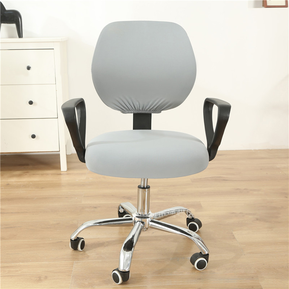 Computer Office Chair  Covers Stretch Rotating Chair Slipcovers Cover Soot