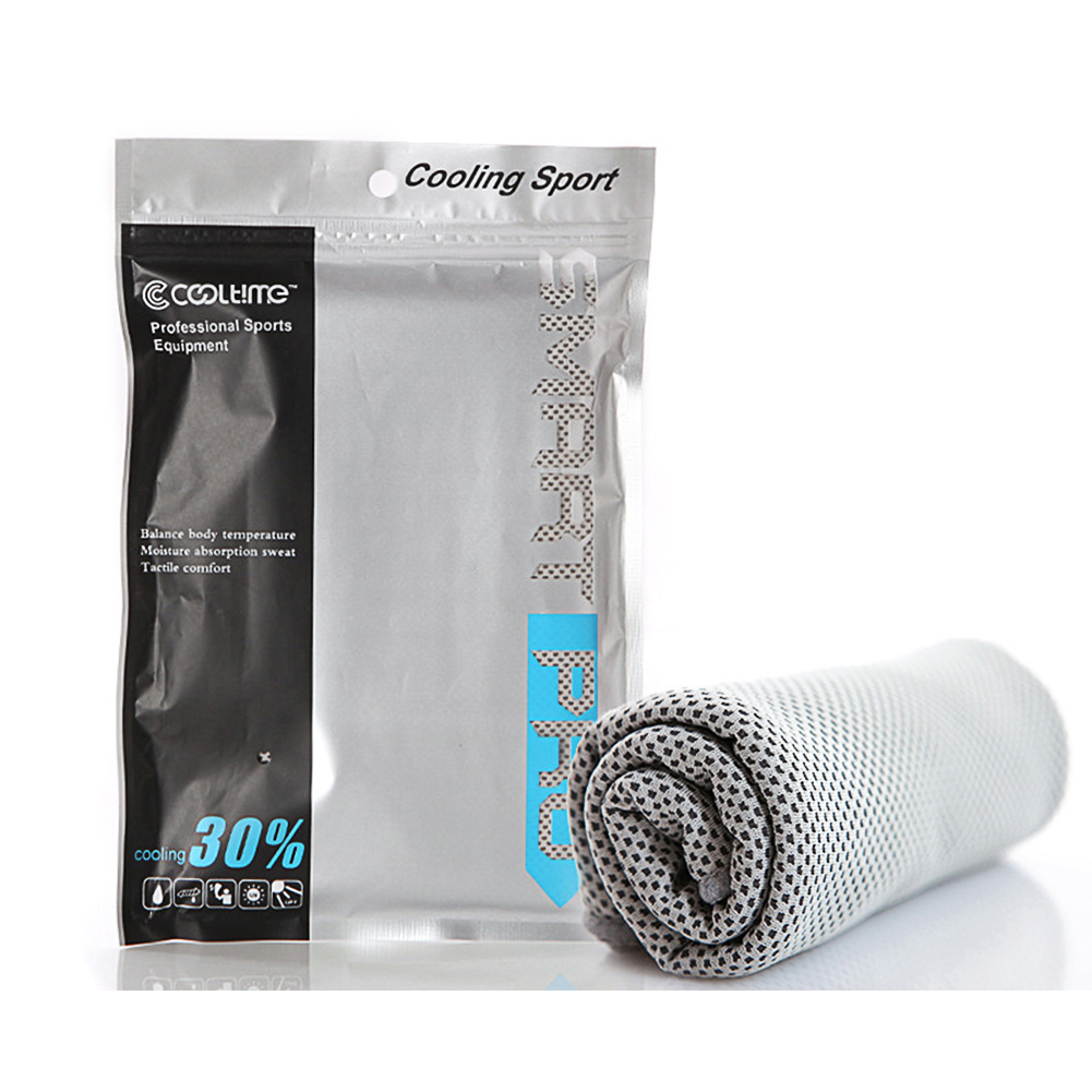 Cooling Towel Super Absorbent Cooling Towel for Sports gray_30*100