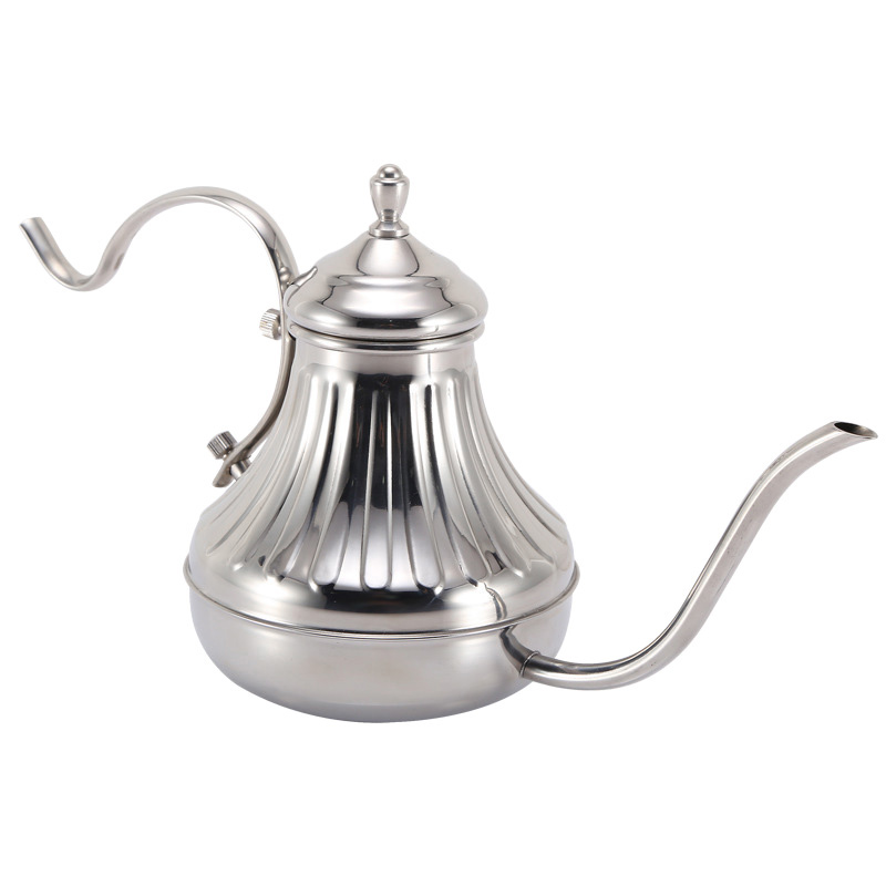 Stainless Steel Hand Drip Coffee Kettle Pour Over Coffee Tea Pot 420ml/14oz