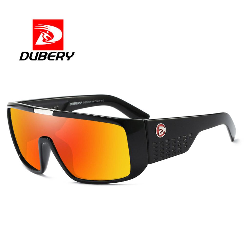 Retro Frame Reflective Coating UV400 Big Wide Leg Sports Sunglasses 7#