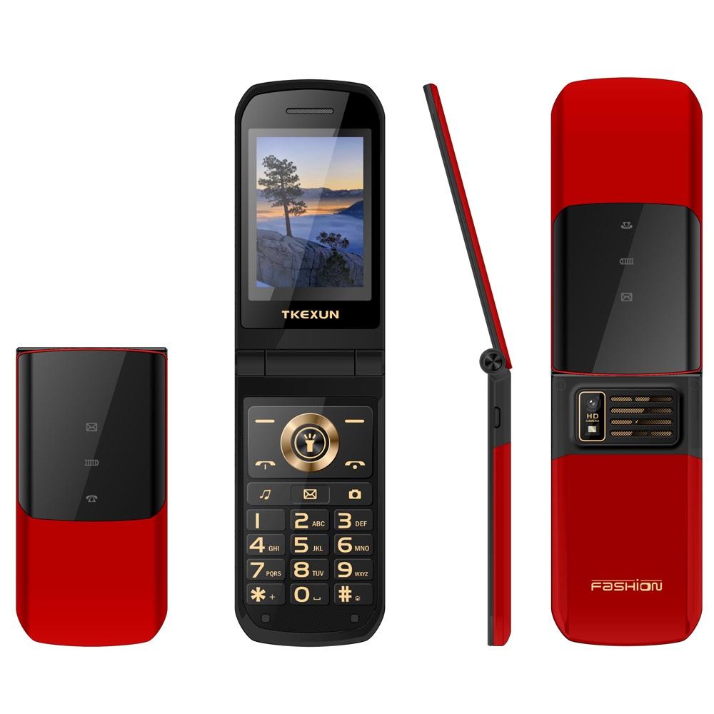 Nk2720 Mobile Phone 2.4-inch Screen 3800mah Battery Capacity Mobile Phone Red