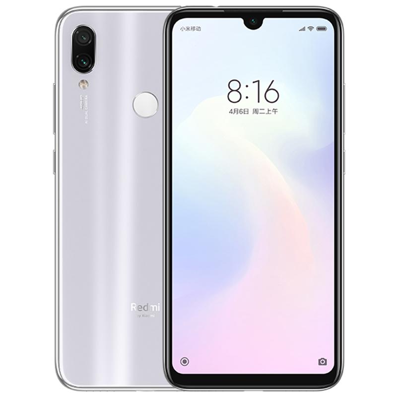 Xiaomi Redmi Note 7 Smartphone white_6+64