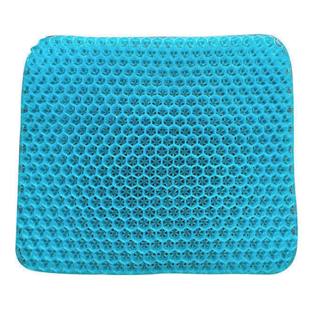 Tpe Cushion Egg Front Nest Multifunctional Decompression Waist Support Office Supplies Light blue