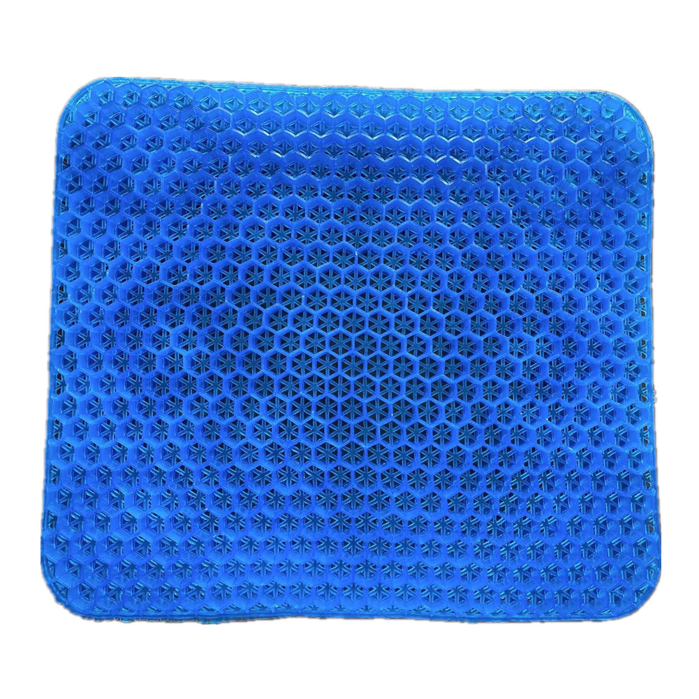 Tpe Cushion Egg Front Nest Multifunctional Decompression Waist Support Office Supplies Navy blue