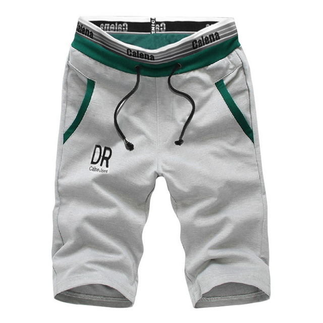 [Indonesia Direct] Shorts Men 2018 Summer Fashion Mens Shorts Casual  Slim Bermuda Masculina Beach Shorts Male Knee Length Short,DA583