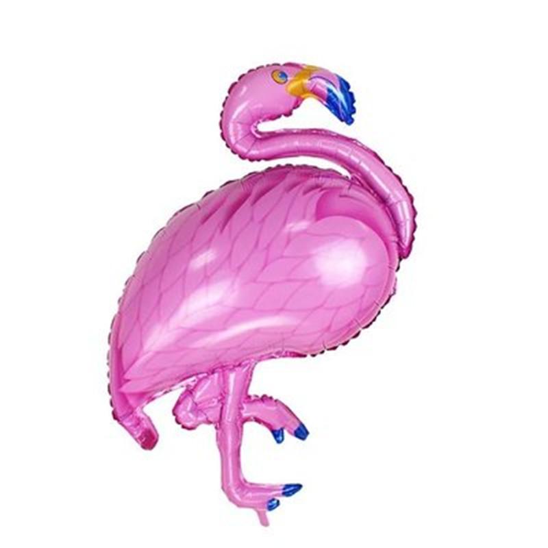 [EU Direct] Huge Flamingo Shape Mylar Aluminum Film Balloon for Birthday Party Decoration Kids Gift Pink