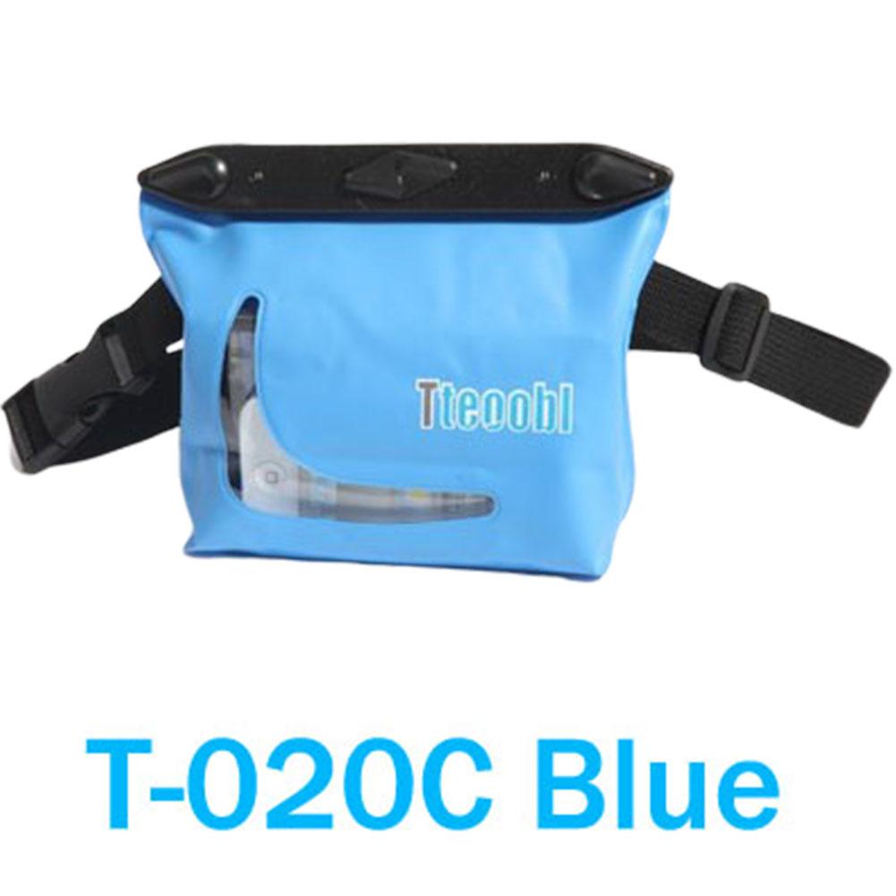 20M PVC Waterproof Waist Bag Underwater Big Dry Case Anti water House For Surf Swim Scuba Diving Snorkeling Rafting blue_T-020C