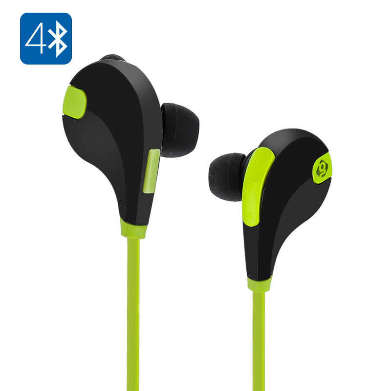 Geega S401 Sports Earbuds (Green)