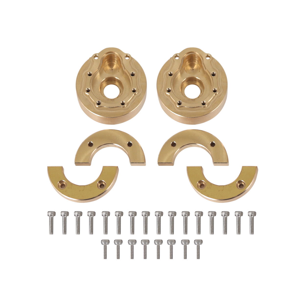 Brass Axles Heavy Weight Competitive 122g Axles Steering Gear Cover for 1/10 Rc Crawler Car Traxxas Trx4 brass