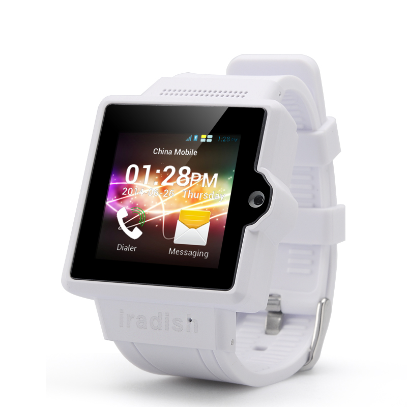 iradish i6S Android Watch Phone (White)