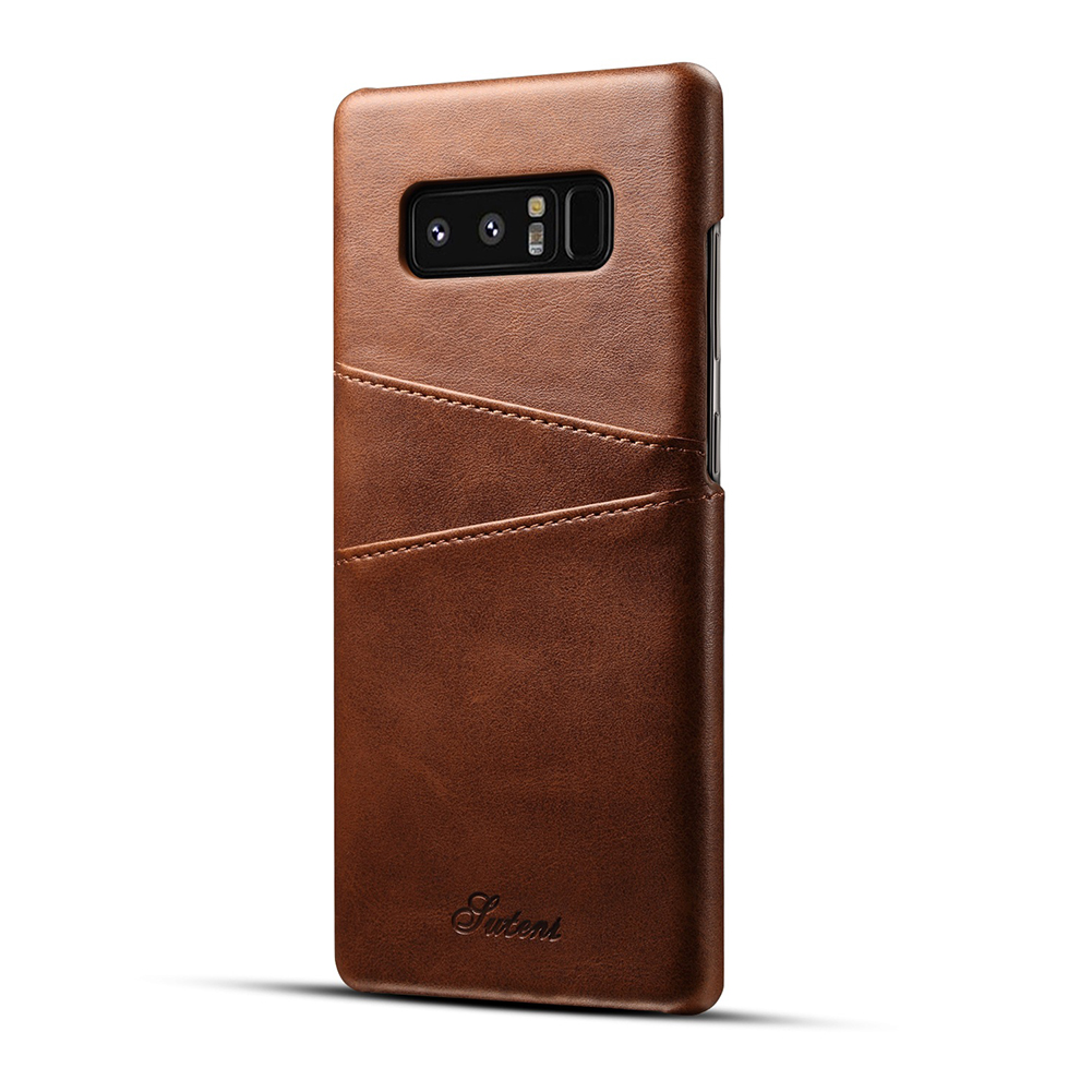 Samsung Note 8 Leather Back Cover brown