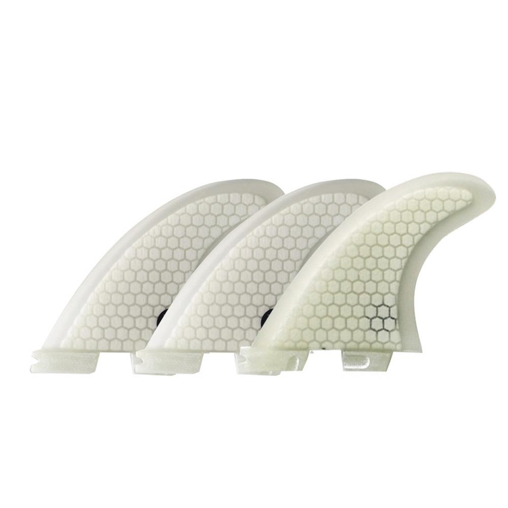Surf Fins FCS 2 G3/G5/G7 Fins Honeycomb Fiberglass Fins Surf Surfboard Fin white_G3