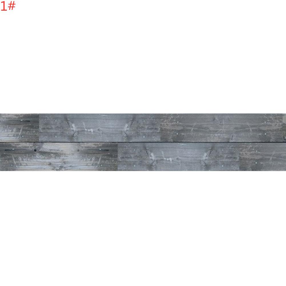 5M 3D Wood Grain Self Adhesive Tile Art Floor Sticker for Living Room Bedroom Decor