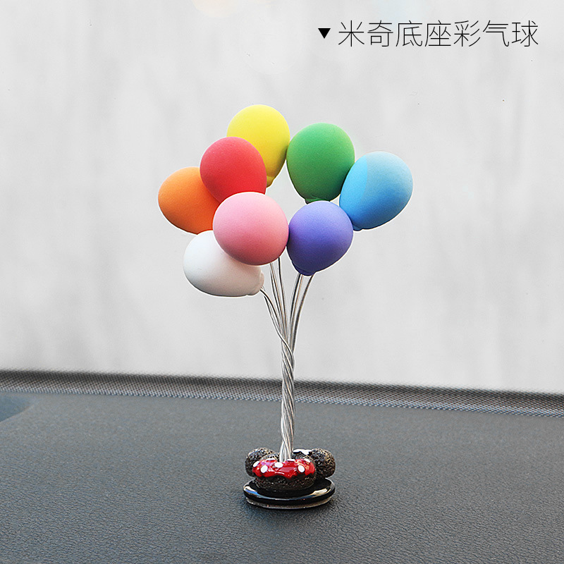 Small Clay Colorful Balloons Decoration
