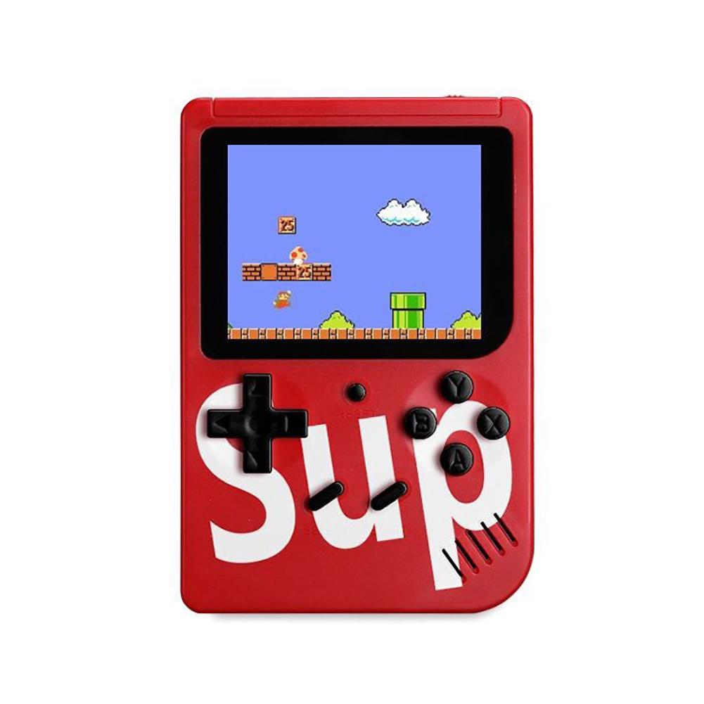 400 in 1 Sup Retro Nostalgia Double Handheld Game Console Gamepad red