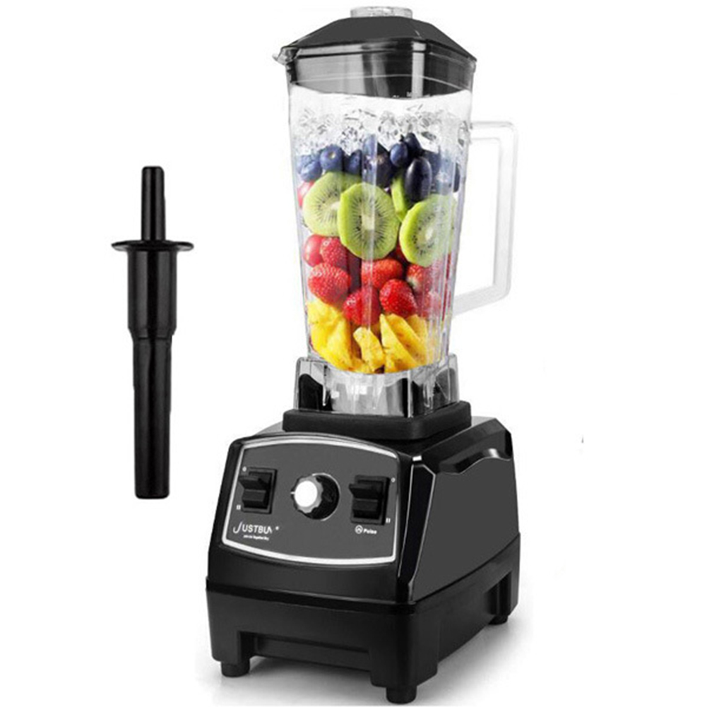 Professional Countertop Blender High Speed Mixer for Shakes Smoothies Crusing Ice black