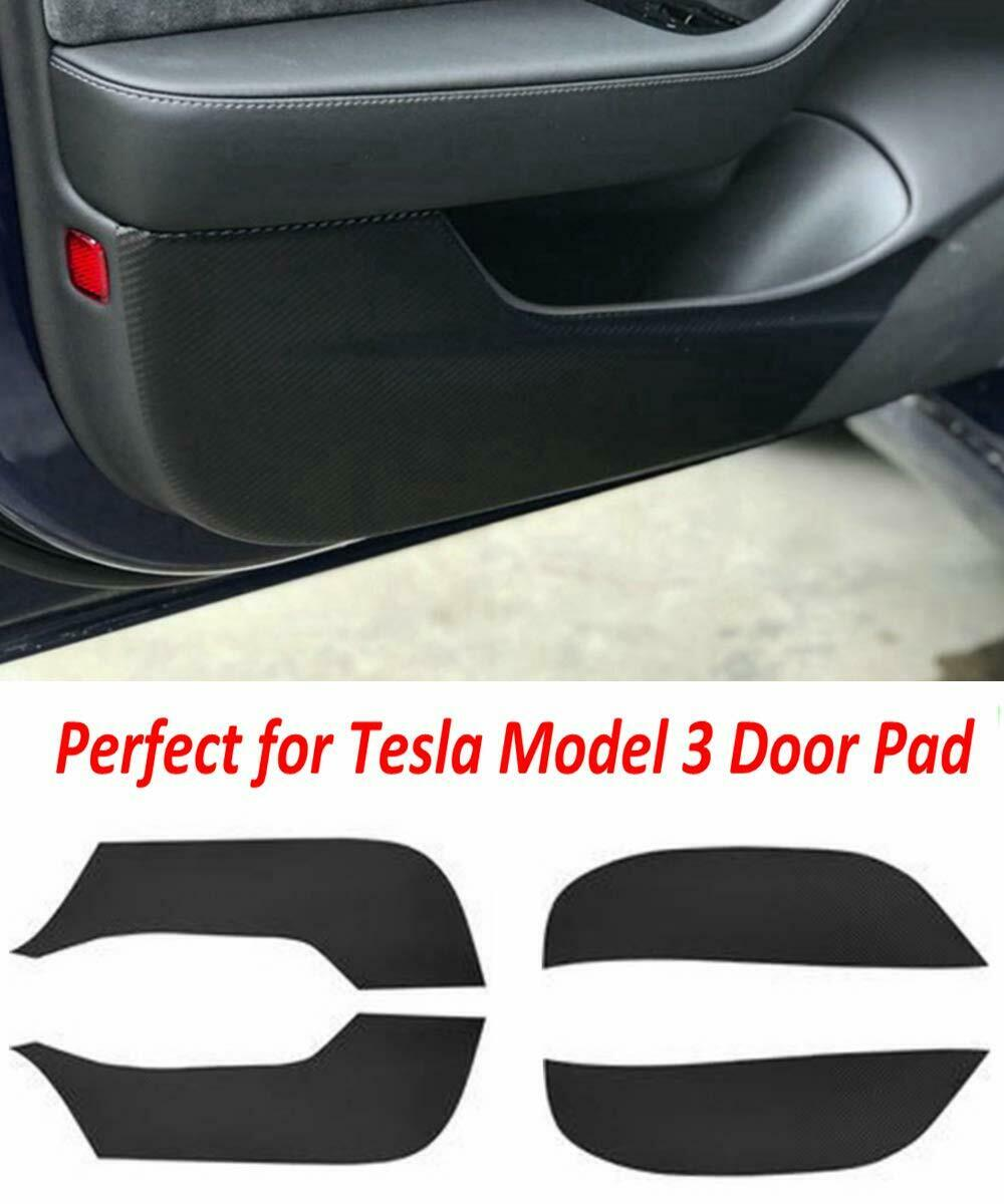 4pcs/set Car door Anti Kick Pad Protection Side Edge Film Protector Stickers